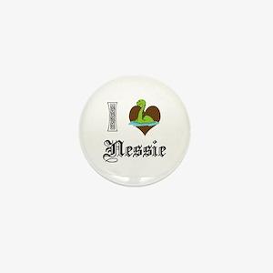 I [HEART] NESSIE Mini Button